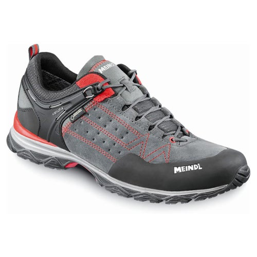 Meindl Ontario GTX Walking Shoes - Anthracite Red