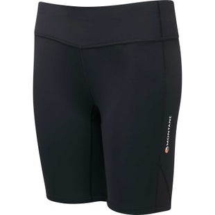 Montane Via Trail Series Short Tights Womens Baselayer Bottoms - Black