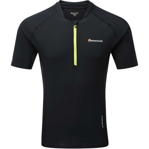 Montane Fang Zip Sports Top - Black