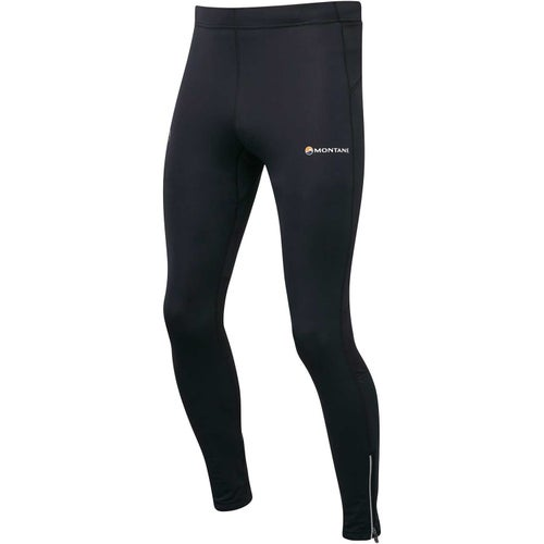 Montane Via Trail Series Long Tights Baselayer Bottoms - Black