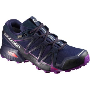 Salomon Speedcross Vario 2 GTX Womens Trail Shoes - Astral Aura Navy Blazer Grape Juice