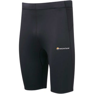 Montane Via Trail Series Short Tights Baselayer Bottoms - Black