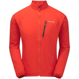 Montane Featherlite Via Trail Windproof Jacket - Flag Red
