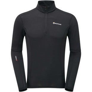 Montane Allez Micro Pull On Base Layer - Black