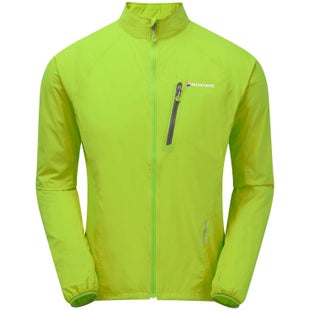 Montane Featherlite Via Trail Windproof Jacket - Laser Green