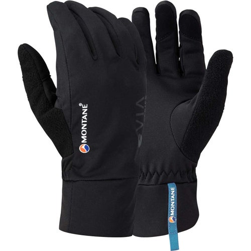 Montane Via Trail Womens Gloves - Black