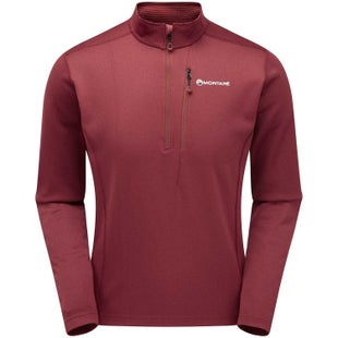 Montane Octane Pull On Fleece - Redwood