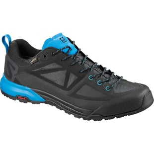 Salomon X Alp SPRY GTX Walking Shoes - Night Sky Grey Indigo Bunting
