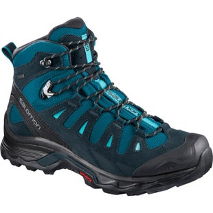 Salomon Quest Prime GTX Womens Boots - Deep Lagoon Reflecting Pond Blue