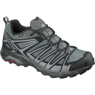 Salomon X Ultra 3 Prime GTX Walking Shoes - Magnet Black Quiet Shade