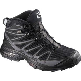Salomon X Chase Mid GTX Walking Shoes - Black Black Magnet