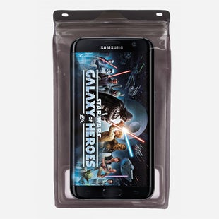 Exped Seal Sleeve 6 Inch Phone Case - Transparent Grey