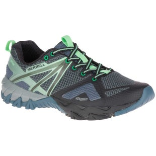 Merrell MQM Flex GTX Womens Walking Shoes - Grey Black
