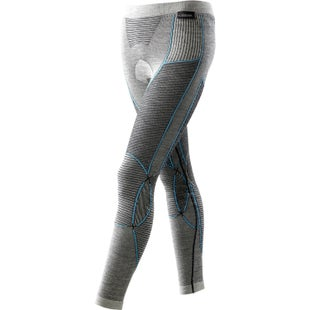 X-Bionic Fast Flow Long Womens Baselayer Bottoms - Black Grey Turquoise