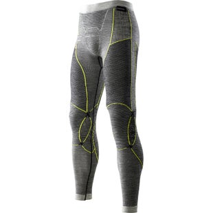 X-Bionic Fast Flow Long Baselayer Bottoms - Black Grey Yellow