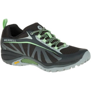 Merrell Siren Edge WTPF Womens Walking Shoes - Black Paradise