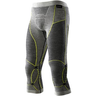 X-Bionic Fast Flow Baselayer Bottoms - Black Grey Yellow