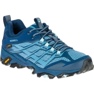 Merrell Moab FST GTX Womens Walking Shoes - Poseidon
