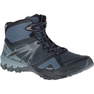 Merrell MQM Flex Mid GTX Walking Shoes - Grey Black