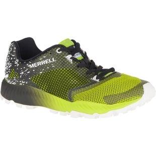 Merrell All Out Crush 2 Trail Shoes - Black Speed Green
