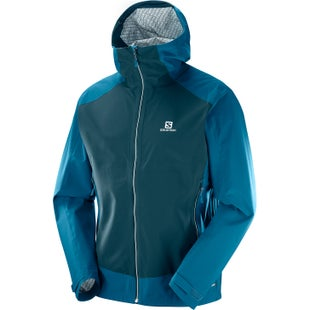 Salomon La Cote Stretch 2.5L Jacket - Moroccan Blue Reflecting Pond