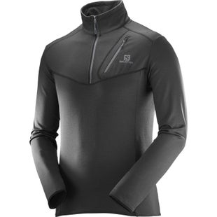 Salomon Discovery Half Zip Fleece - Black