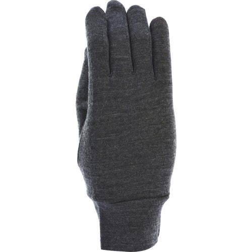 Extremities Merino Touch Liner Gloves - Charcoal