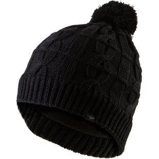 Sealskinz Waterproof Cable Knit Bobble Beanie - Black