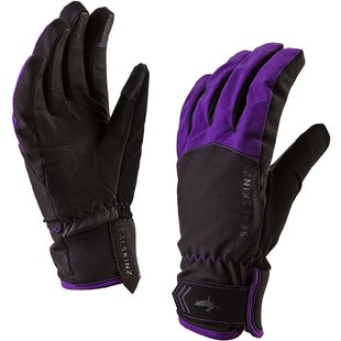 Sealskinz All Season Womens Gloves - Black Purple