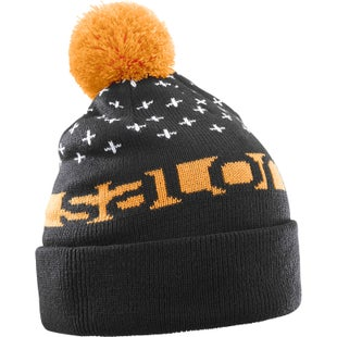 Salomon Free Beanie - Black Turmeric White