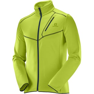 Salomon Discovery Classic Fleece - Lime Punch