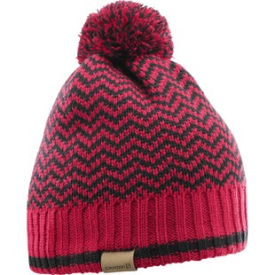 Salomon Back Country Beanie - Barbados Cherry Black