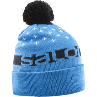 Salomon Free Beanie - Hawaiian Surf Black White