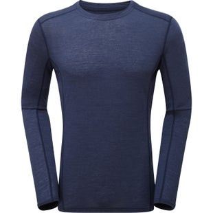 Montane Primino 140 Long Sleeve Base Layer - Antarctic Blue