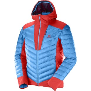 Salomon X Alp Hooded Down Jacket - Hawaiian Matador