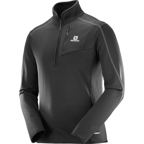 Salomon Atlantis Half Zip Fleece - Black