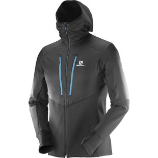 Salomon Drifter Air Mid Hoodie Jacket - Black
