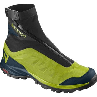 Salomon OUTpath Pro GTX Walking Shoes - Lime Punch Reflective Pond Black