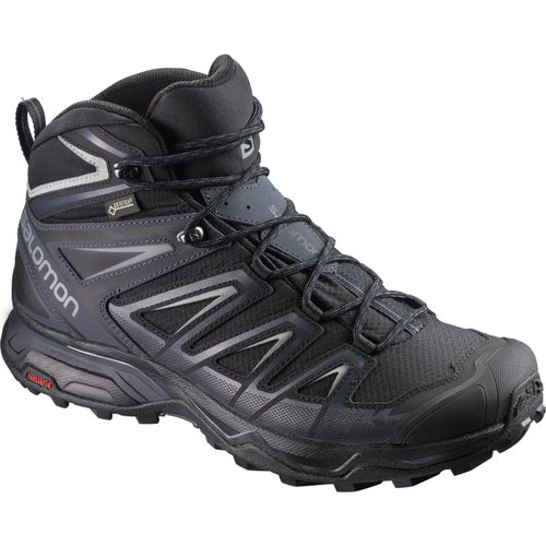 Salomon X Ultra 3 Mid GTX Walking Shoes - Black India Ink Monument