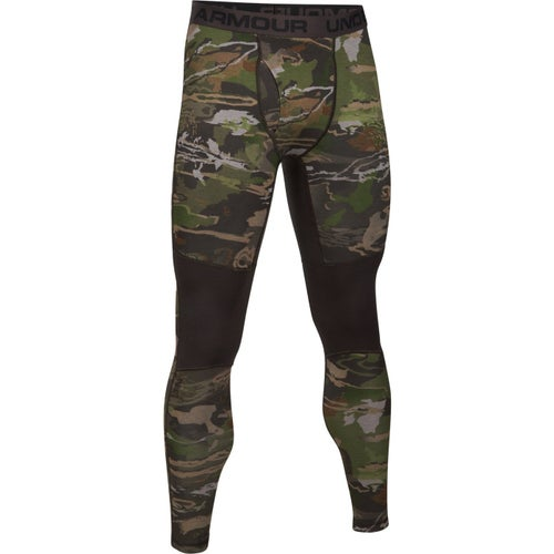 Under Armour Mid Season Reversible Wool Baselayer Bottoms - Ridge Reaper Camo Fo