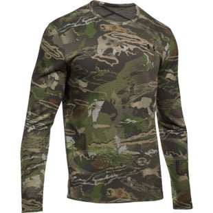 Under Armour Mid Season Reversible Wool Crew Base Layer - Ridge Reaper Camo Fo