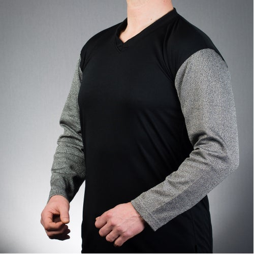 PPSS Arm Guard Sweatshirt Body Protection - Grey