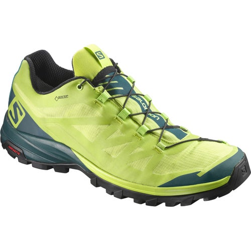 Salomon OUTpath GTX Walking Shoes - Lime Punch Reflecting Pond Black