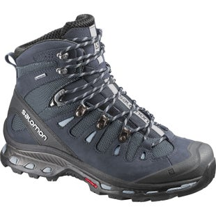 Salomon Quest 4D 2 GTX Womens Boots - Deep Blue Stone Blue Light Onix