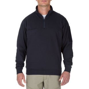 5.11 Tactical Utility Job Long Sleeve Shirt - Fire Navy