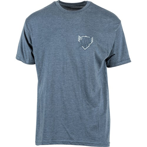 5.11 Tactical Logo Short Sleeve T-Shirt - Viper Navy Heather