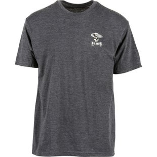 5.11 Tactical Logo Short Sleeve T-Shirt - Patriot Charcoal Heather