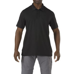 5.11 Tactical Odyssey Polo Shirt - Black
