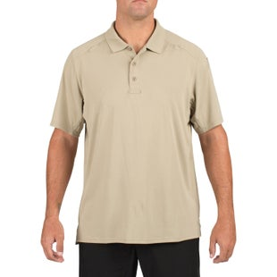 5.11 Tactical Helios Polo Shirt - Silver Tan