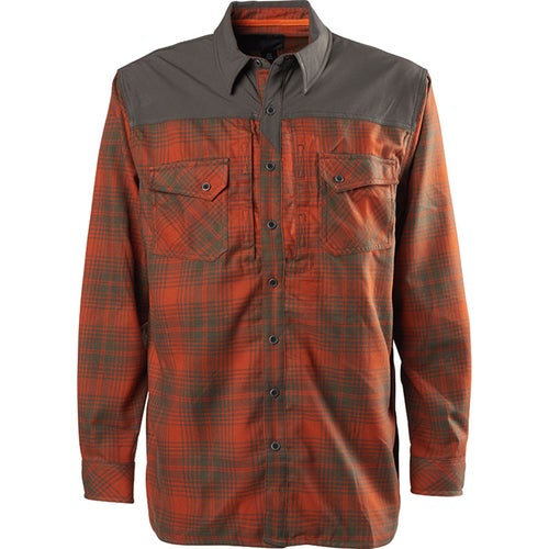 5.11 Tactical Sidewinder Flannel Long Sleeve Shirt - Fireball